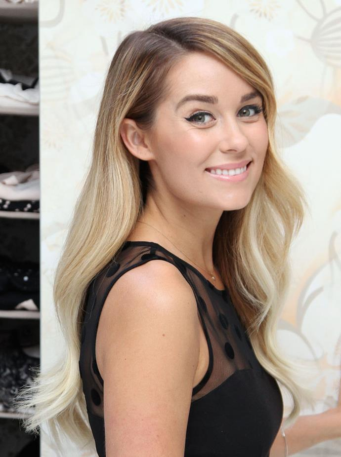 **2013: Lauren Conrad's ombré locks**<br><br>