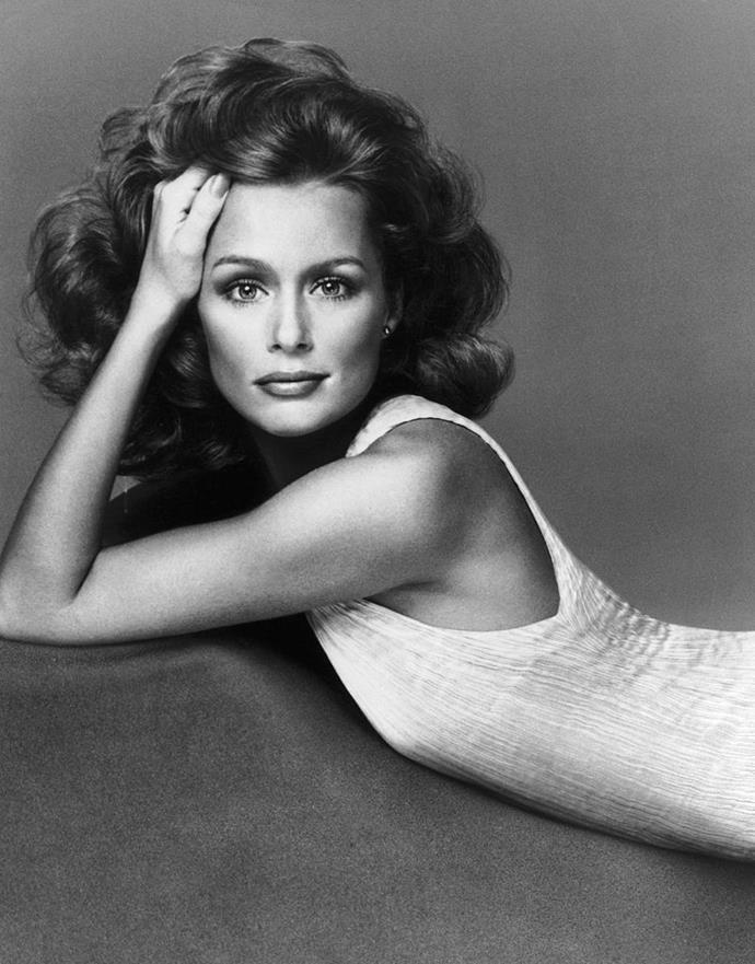 **1974: Lauren Hutton's glamorous waves**