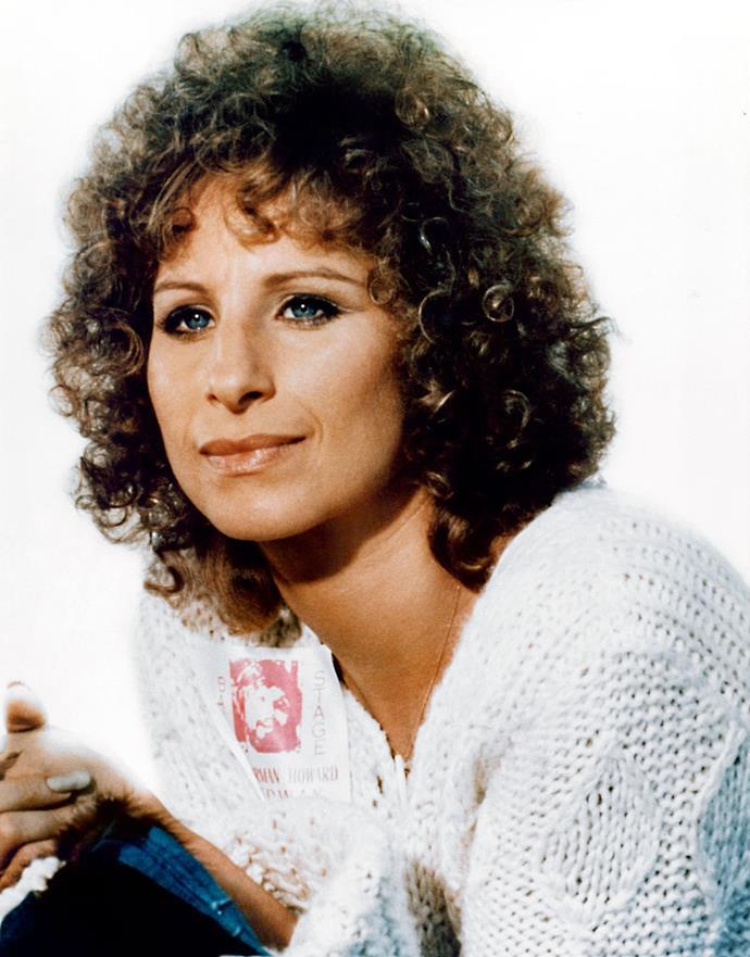 **1976: Barbara Streisand's face-framing curls**