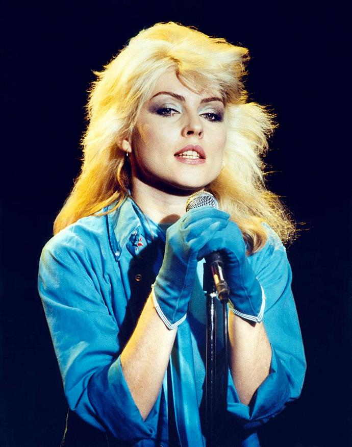 **1978: Debbie Harry's bleach blonde 'do**