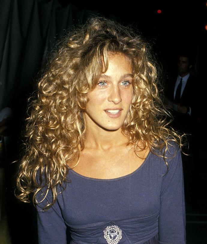 **1988: Sarah Jessica Parker's undone curls**