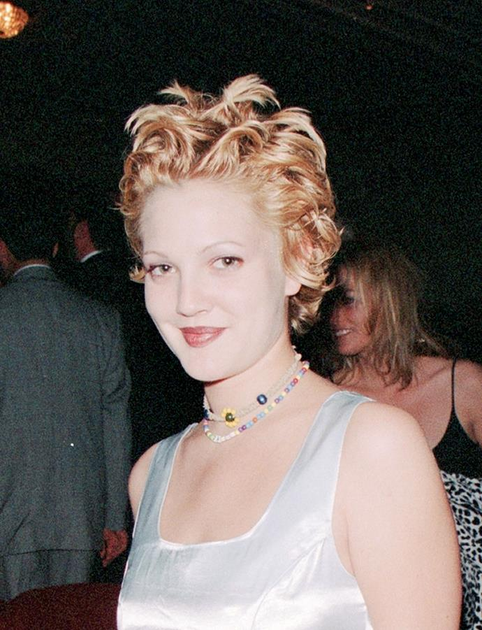 **1994: Drew Barrymore's grown-out pixie cut**