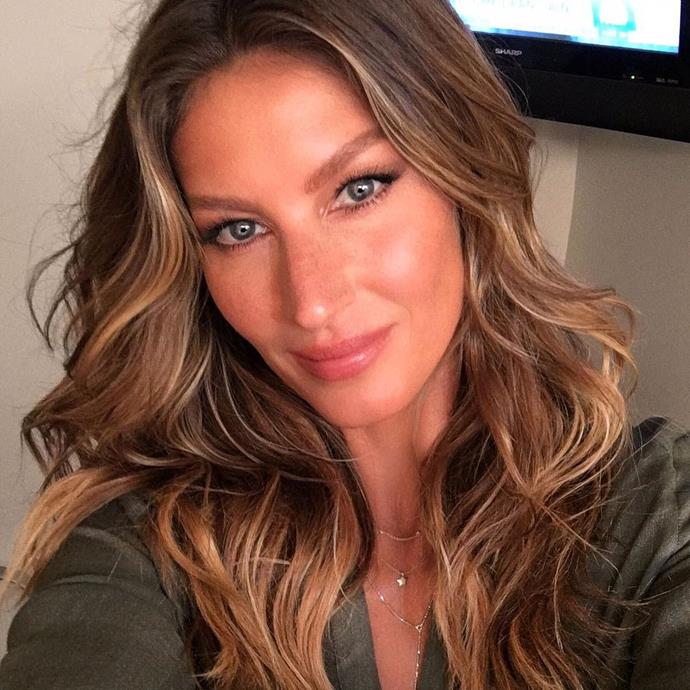 "**8. Gisele Bündchen**<br><br>  Just over 26 million followers.<br><br>  *Image via [@gisele](https://www.instagram.com/gisele/?hl=en|target=""_blank""