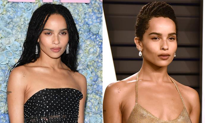 """**Zoë Kravitz** <br><br> Once a champion of the effortless pixie cut, *[Big Little Lies](https://www.harpersbazaar.com.au/culture/big-little-lies-fashion-18794