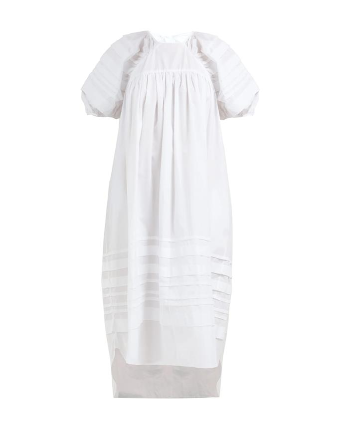 "*A voluminous dress*<br><br> Dress by Cecilie Bahnsen, $1,206 at [MATCHESFASHION.COM](https://www.matchesfashion.com/au/products/1270077|target=""_blank""