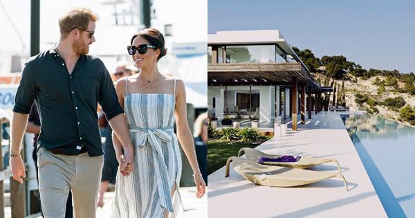 Inside Prince Harry & Meghan Markle's Ibiza Villa | Harper's BAZAAR Australia
