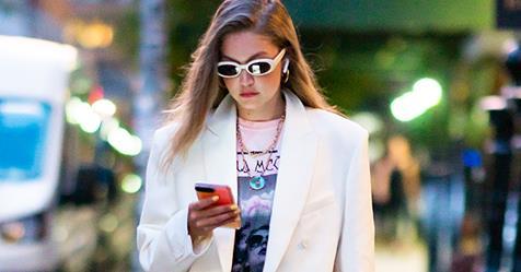 Gigi Hadid Takes The Market Bag Trend To The Next Level | Harper's BAZAAR Australia