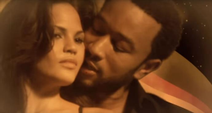 "**Chrissy Teigen in John Legend's video for ""Stereo""**<br><br>  Chrissy Teigen and John Legend first met on the set of his sensual 2006 music video for ""Stereo"". Suffice to say, sparks flew between the couple, who commenced a relationship and were married seven years later.<br><br>   *Watch the video [here](https://www.youtube.com/watch?v=ZGC2Zk2fIOc