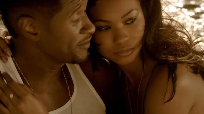 "**Chanel Iman in Usher's video for ""Dive""**<br><br>  Chanel Iman took on the role of Usher's leading lady in the passionate, water-filled video for his 2012 song ""Dive"".<br><br>  *Watch the video [here](https://www.youtube.com/watch?v=OIOntfVPBsw
