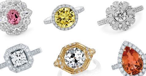 Halo Engagement Rings: 20 Beautiful Rings To Inspire | Harper's BAZAAR Australia
