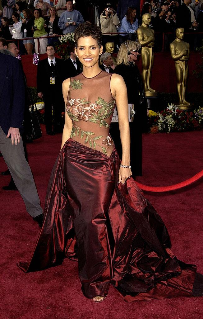 "**Halle Berry wearing Elie Saab to the 2002 Academy Awards**<br><br>  Easily one of the most iconic red carpet moments of all time, revered Lebanese designer Elie Saab credits the actress, who also won an Oscar that night, with the global recognition his brand received after the event.<br><br>  ""Halle Berry made the name Elie Saab more popular … She managed to really put the name Elie Saab on the international market,"" he [said](https://www.vogue.com.au/fashion/news/lebanese-designer-elie-saab-on-haute-couture-and-how-halle-berry-changed-his-business/news-story/39833c9232721d6d5feb4fc781349779