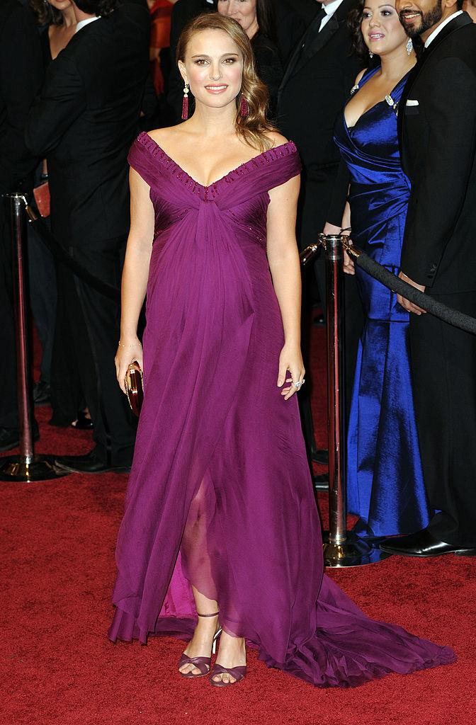 "**Natalie Portman wearing Rodarte to the 2011 Academy Awards**<br><br>  Natalie Portman not only won her Oscar Award for *Black Swan* in a flowing purple Rodarte number, but she took the relatively young fashion house to new heights of fame, with designers Kate and Laura Mulleavy [describing it](https://sg.style.yahoo.com/rodarte-designers-natalie-portmans-2011-oscars-look-special-060000206.html|target=""_blank""