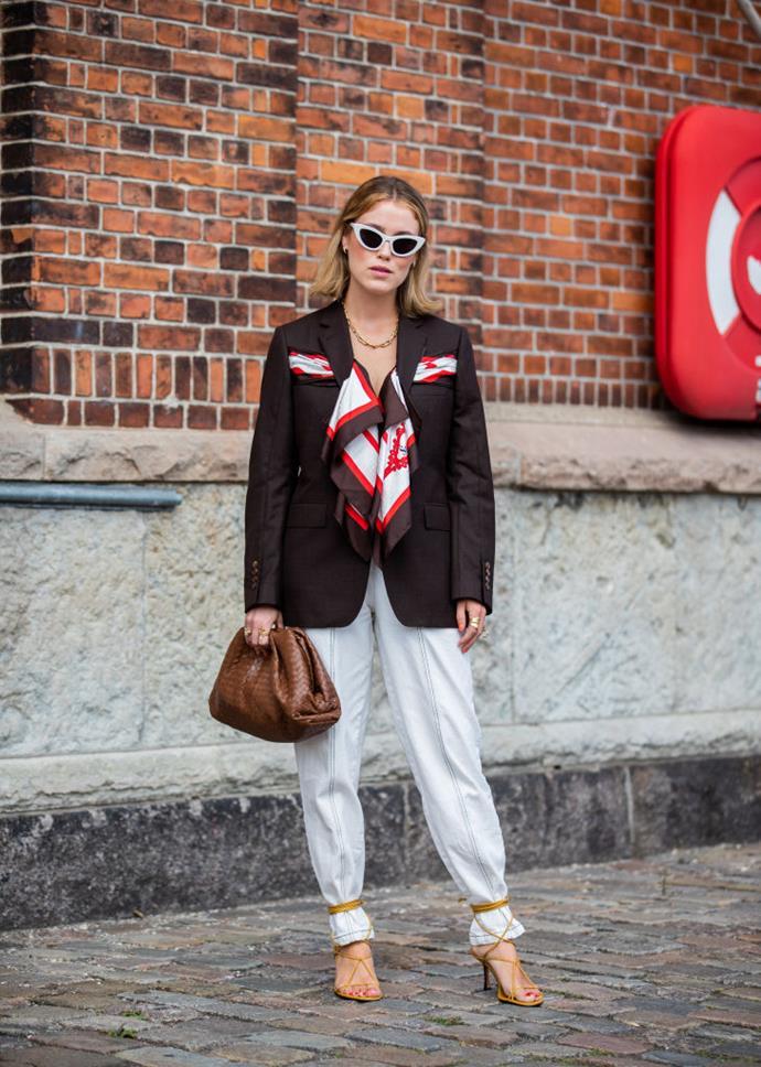 Blogger and influencer Annabel Rosendahl at Copenhagen Fashion Week spring/summer 2020.