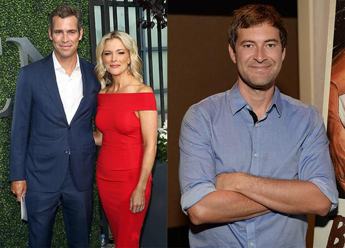 Megyn Kelly's husband Douglas Brunt (left), played by Mark Duplass.