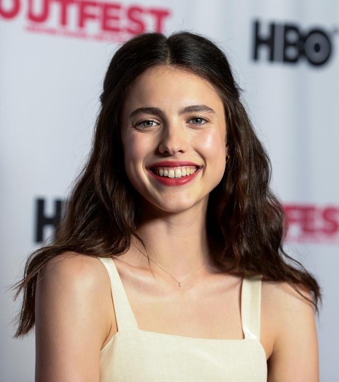 Qualley at the Outfest 2019 screening of *Adam*.