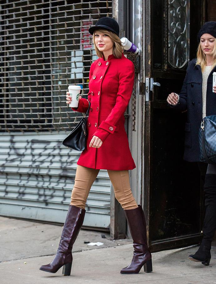 "**DIET: Coffee**<br><br>  In an interview with [*WebMD*](https://www.webmd.com/women/features/taylor-swifts-rules-for-healthy-living#3|target=""_blank""