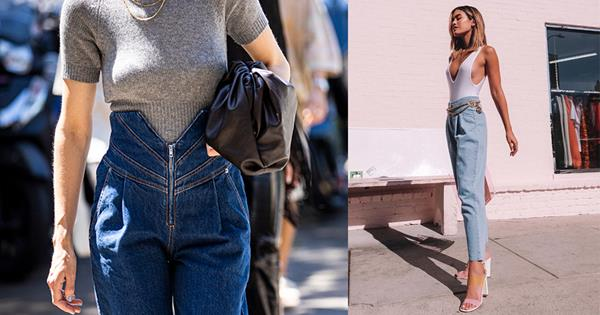 Jeans Trends 2020.Pleated Jeans The Denim Trend For 2020 Harper S Bazaar