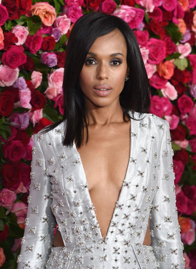 **Kerry Washington** <br><br> The former *Scandal* star is seriously devoted to Pilates and has reportedly done a session almost every day a week for the past six years. That's commitment (and core strength).
