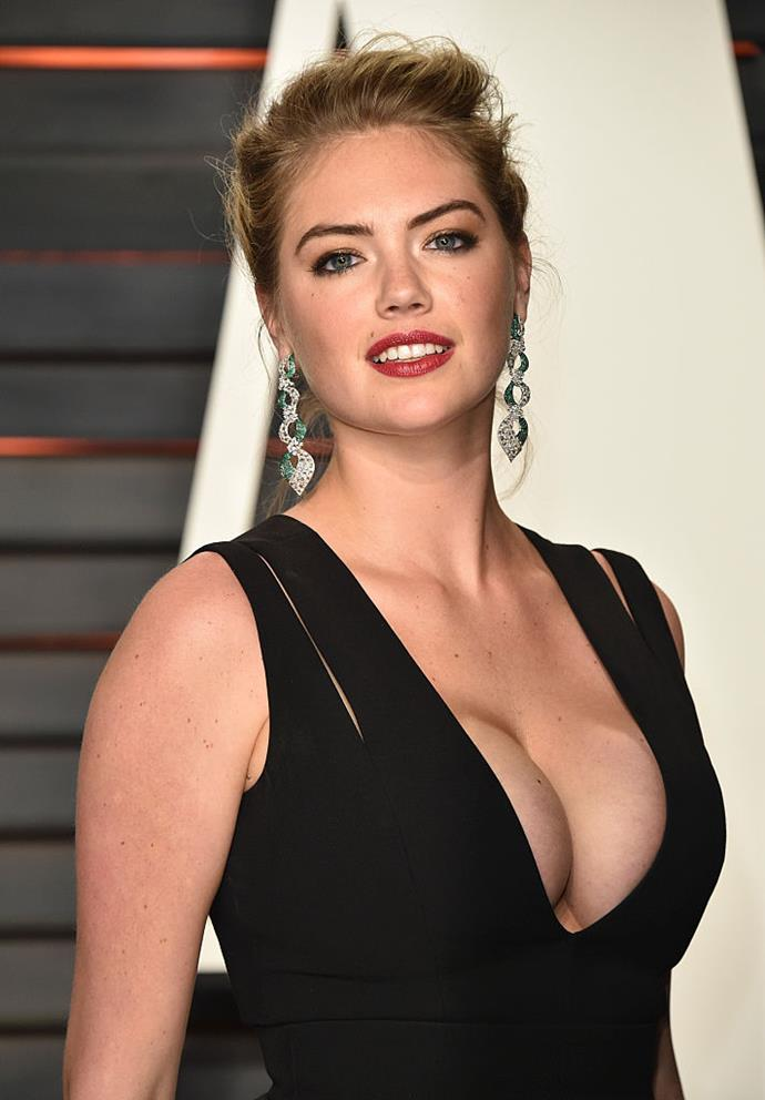 "**Kate Upton** <br><br> The swimsuit model is a serious gym junkie, even founding her own at-home fitness program, Strong4Me. She's been known to lift 100 kilograms of weight using only her hips. Don't believe us? Watch this Instagram [video](https://www.instagram.com/p/Bc0NEt5nux2/|target=""_blank""