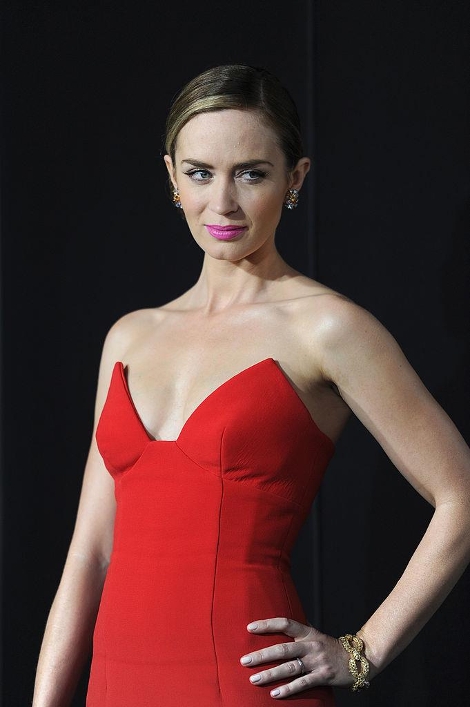 **Emily Blunt** <br><br> The actress amped up her training schedule for her role in the 2014 action flick, *Edge of Tomorrow*, for which Blunt spent three months doing gymnastics, weight training, sprinting and training in Krav Maga, a Israeli-born method of self defence.