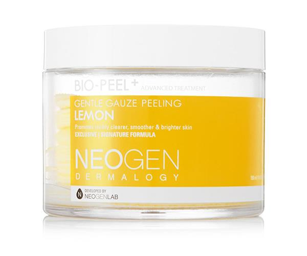 """**Glycolic acid** <br><br> Both hyaluronic acid and salicylic acid have had their moment in the spotlight, but glycolic acid is one of the best natural remedies for ridding your face of dead skin cells. If you suffer from oily or acne-prone skin, look no further than Korean beauty brand Neogen's 'Bio-Peel' wipes, which effectively rid your skin of waste while maintaining a natural gleam. The Neogen skincare range is now available at MYER. <br><br> *Bio-Peel Gauze Pads by Neogen, $43 from [MYER](https://www.myer.com.au/p/neogen-gauze-peling-pad-lemon-200ml