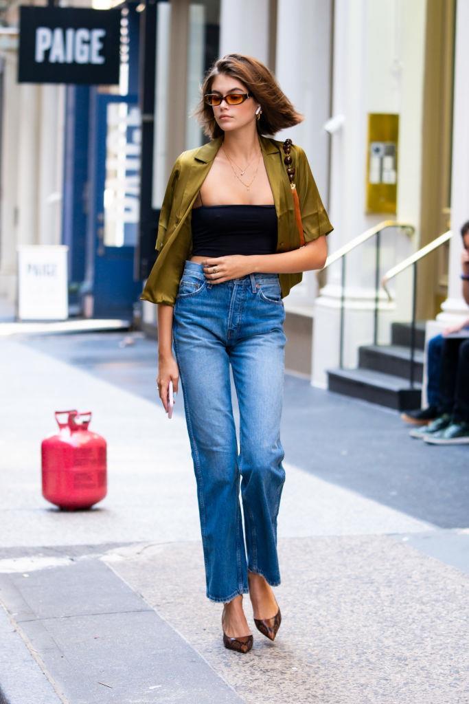 Kaia Gerber in New York City on September 3, 2019.
