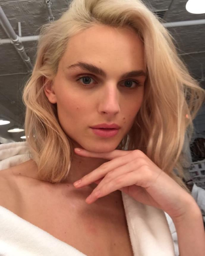 """**Andreja Pejić**<br><br>  Hardly a newcomer to the fashion industry, Australian transgender model Andreja Pejić has been breaking ground for many years. Although she rose to fame for her androgynous look in 2011, modelling both men and women's clothing for the likes of Jean-Paul Gaultier and Marc Jacobs, she did not come out as openly transgender until 2013.<br><br>  Since then, Pejić achieved many 'firsts', including being the first-ever trans woman to sign a cosmetics contract and appear on numerous magazine covers. In 2019, Pejić achieved another major first, after being named the face of iconic underwear brand Bonds in the [first-ever Australian campaign](https://www.news.com.au/lifestyle/fashion/people/transgender-model-andreja-pejic-to-lead-bonds-elevated-new-lingerie-collection-intimately/news-story/28e77b48ce75c29022a201205fc773a0