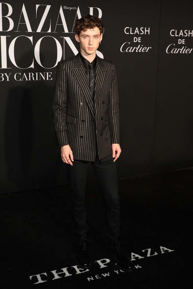 "Troye Sivan wearing [Cartier Jewellery](https://www.cartier.com/|target=""_blank""|rel=""nofollow"")."