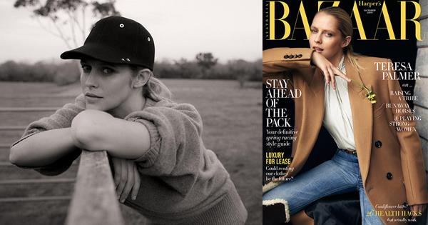 Teresa Palmer On 'Ride Like A Girl', Motherhood & #MeToo | Harper's BAZAAR Australia