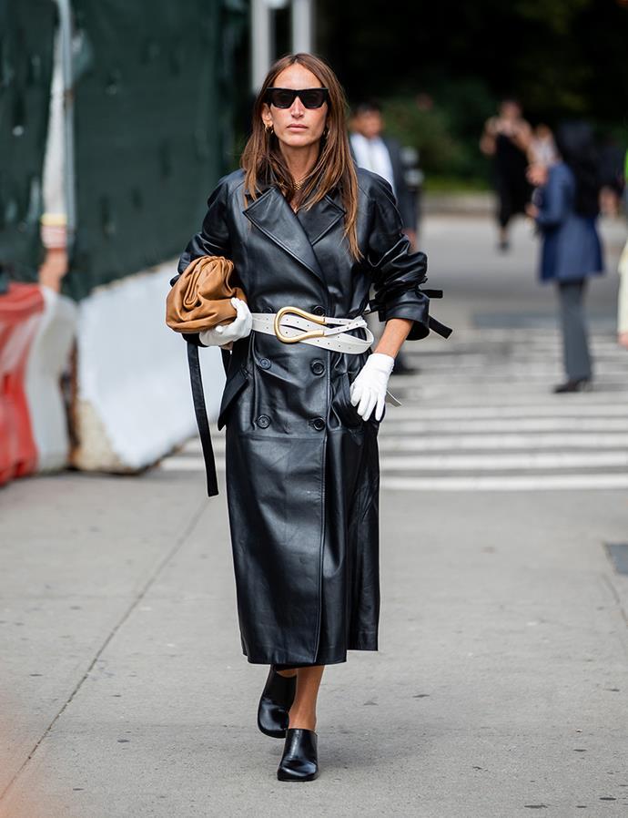 Chloé Harrouche  at New York Fashion Week September 2019