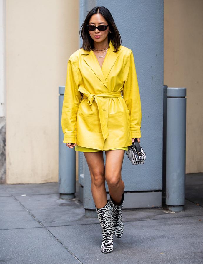 Aimee Song at New York Fashion Week September 2019
