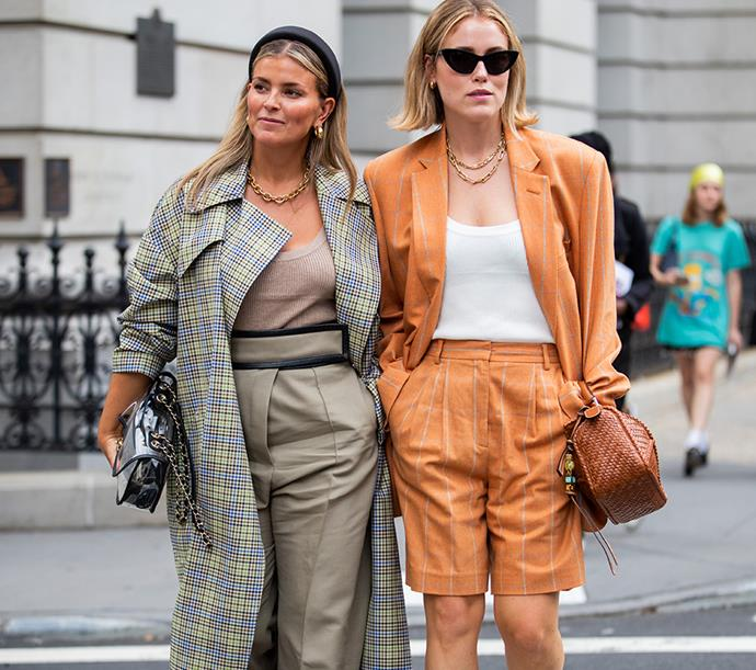 Patricia Manfield and Annabel Rosendahl at New York Fashion Week September 2019
