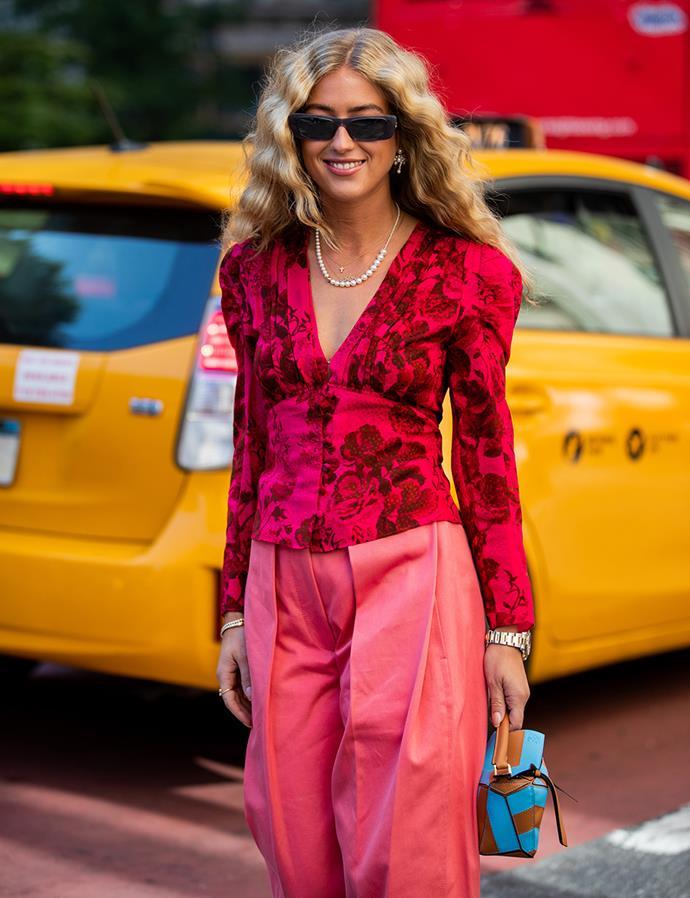 Emili Sindlev at New York Fashion Week September 2019