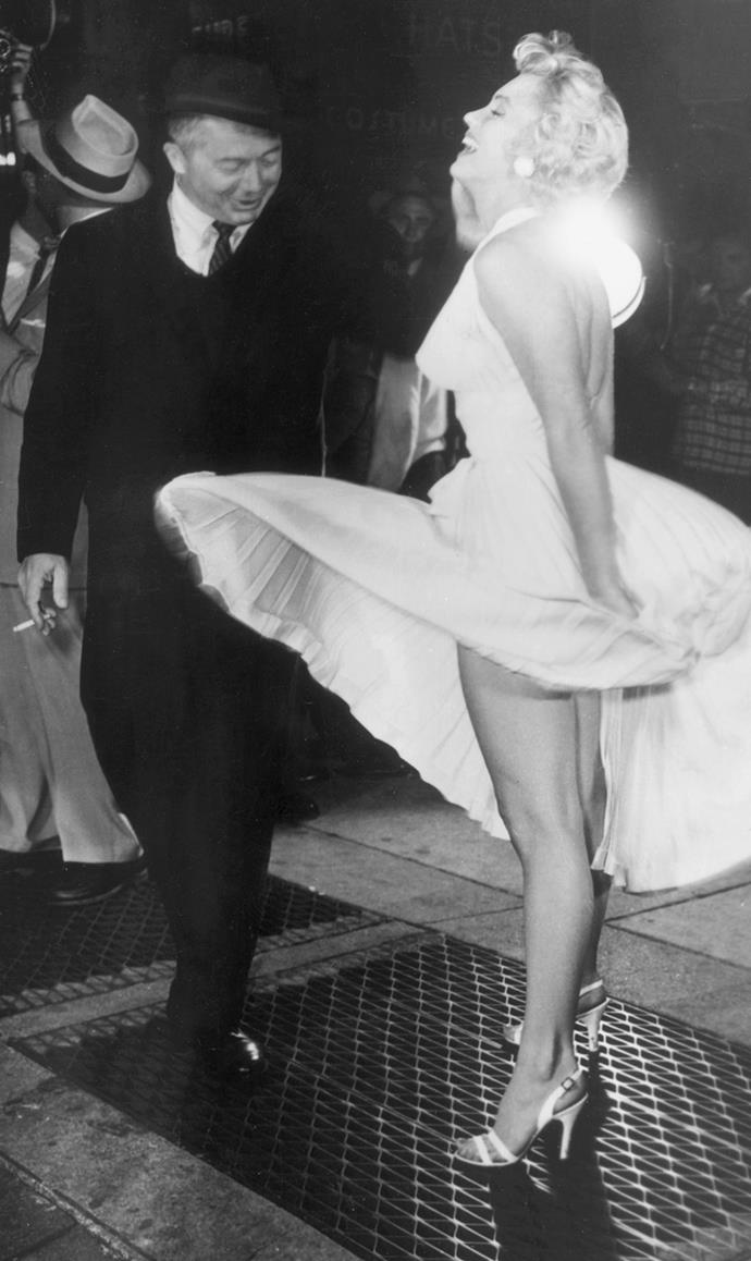 Marilyn Monroe in *The Seven Year Itch*, 1955