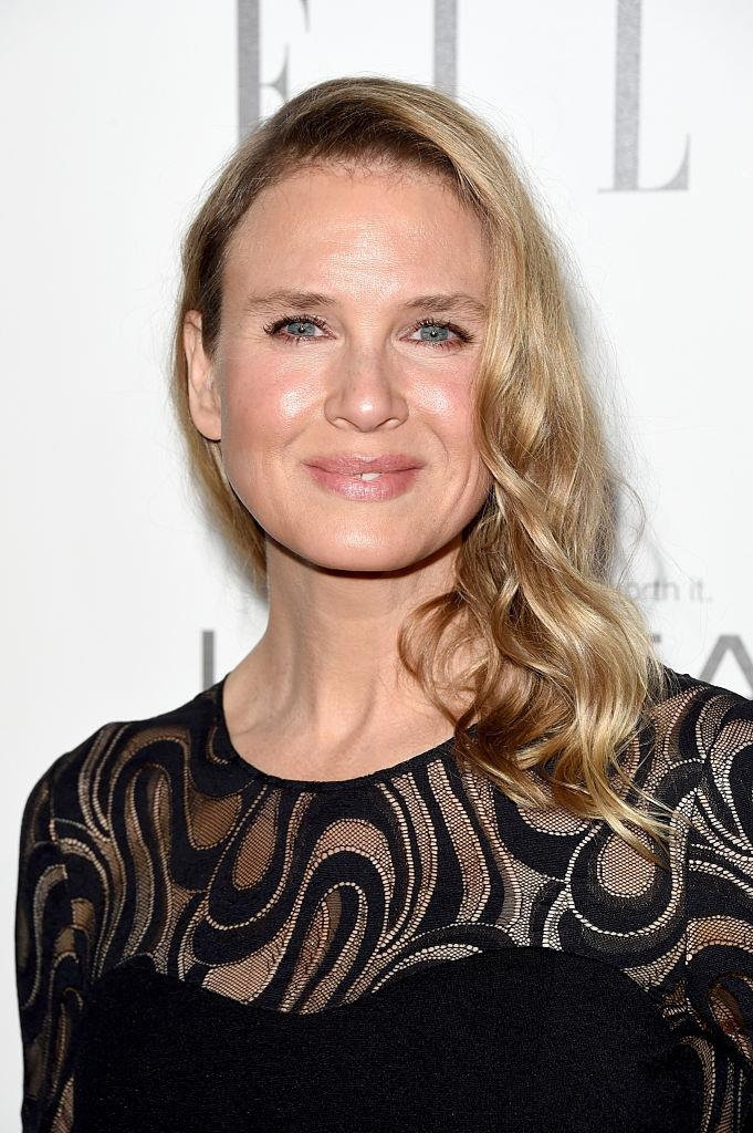 Zellweger in October 2014, around the time that surgery rumours surfaced.