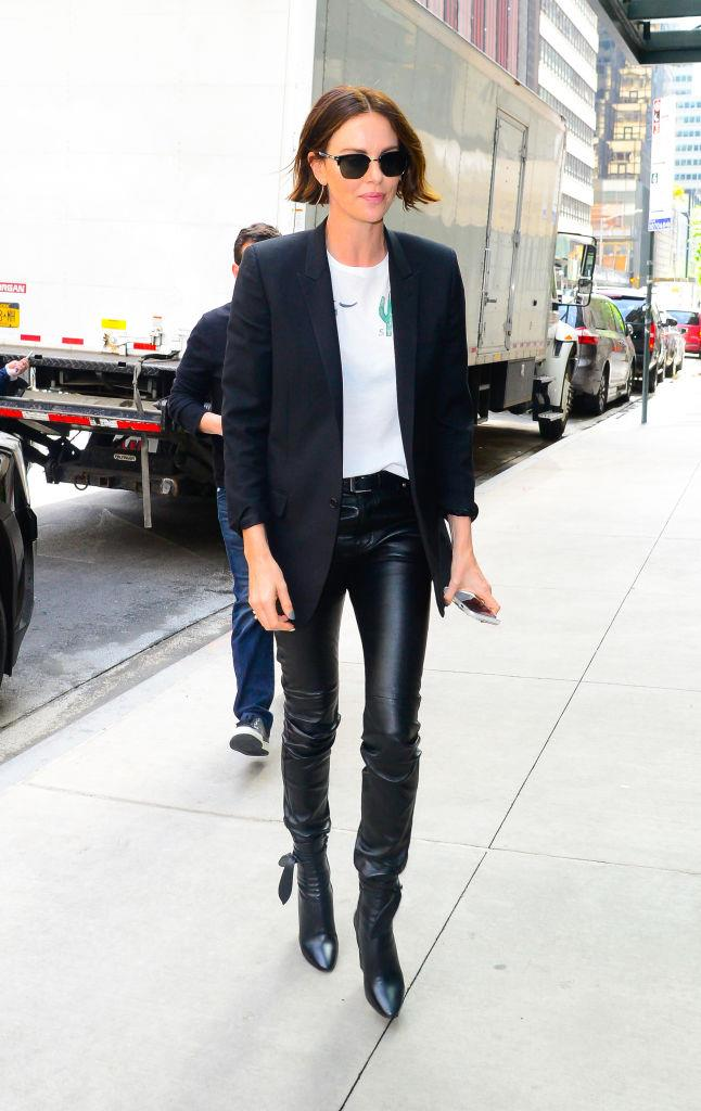 Charlize Theron in New York in April 2019.