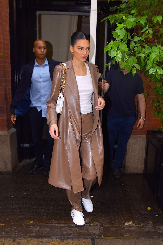 Kendall Jenner in New York in June 2019.