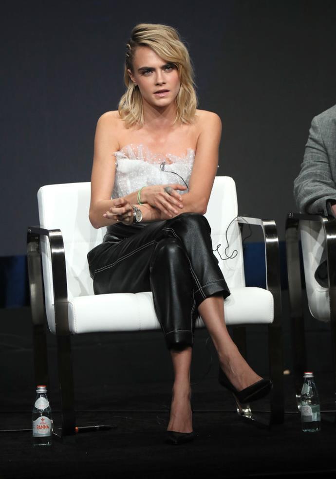 Cara Delevingne in Los Angeles in July 2019.