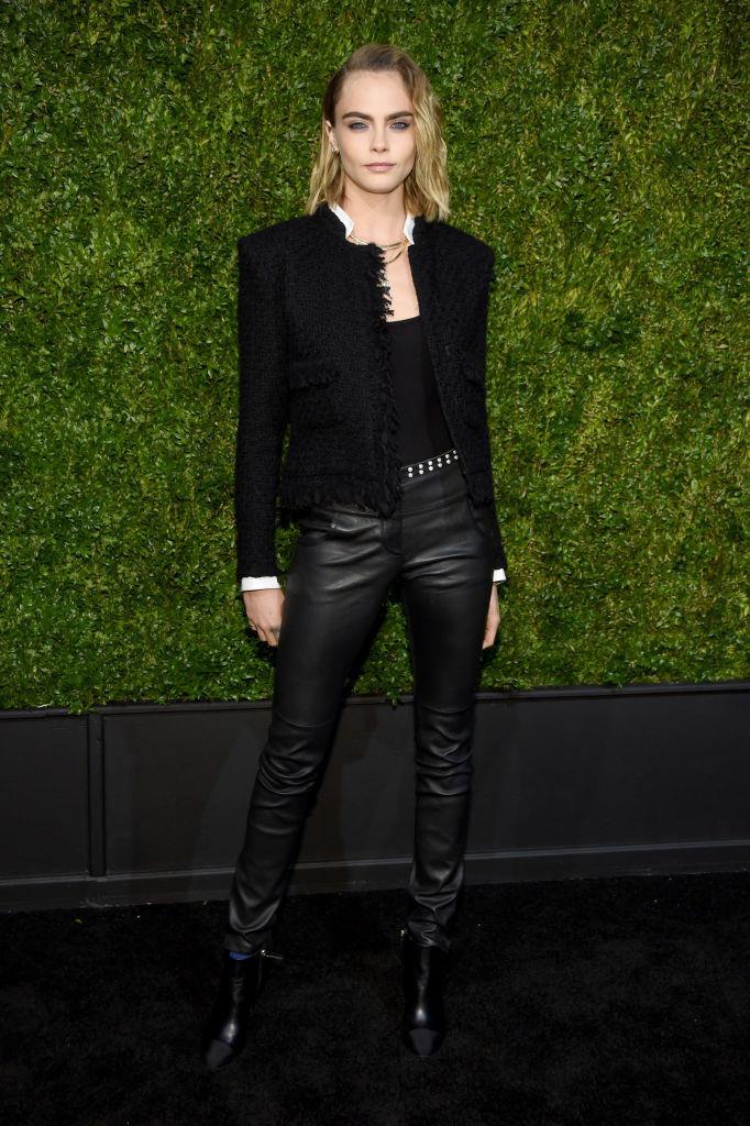 Cara Delevingne in New York in April 2019.
