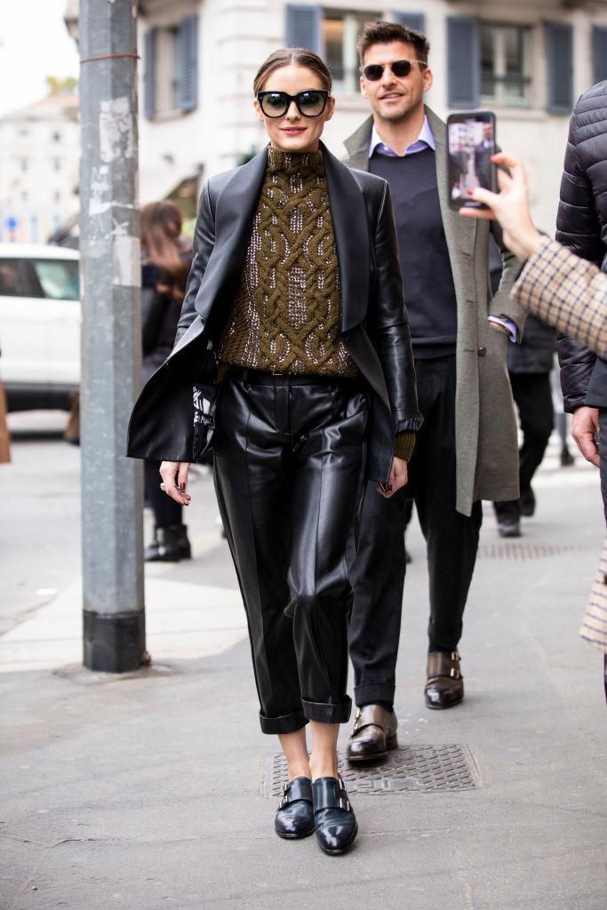 Olivia Palermo in New York in February 2019.