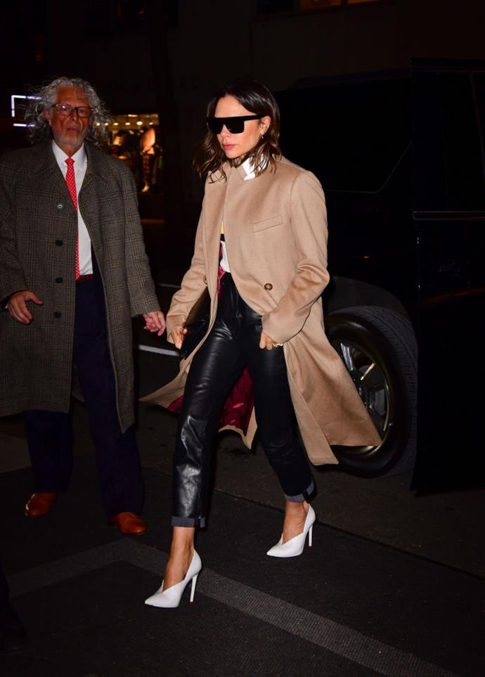 Victoria Beckham in New York in January 2019.