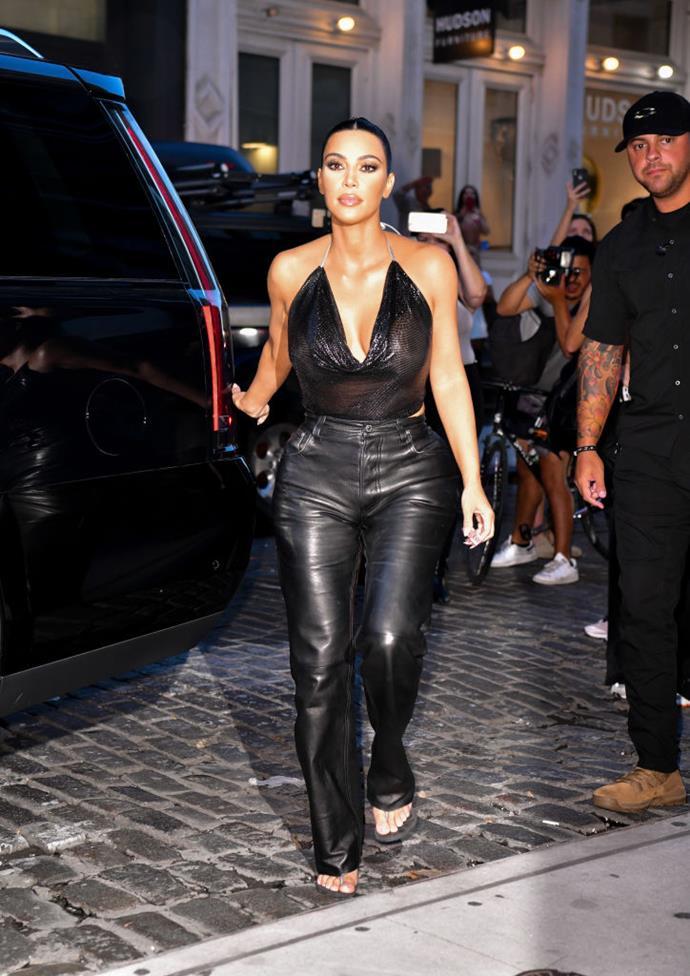 Kardashian West in New York on September 11, 2019.