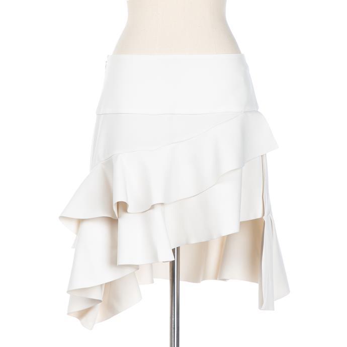 Balenciaga skirt, $416