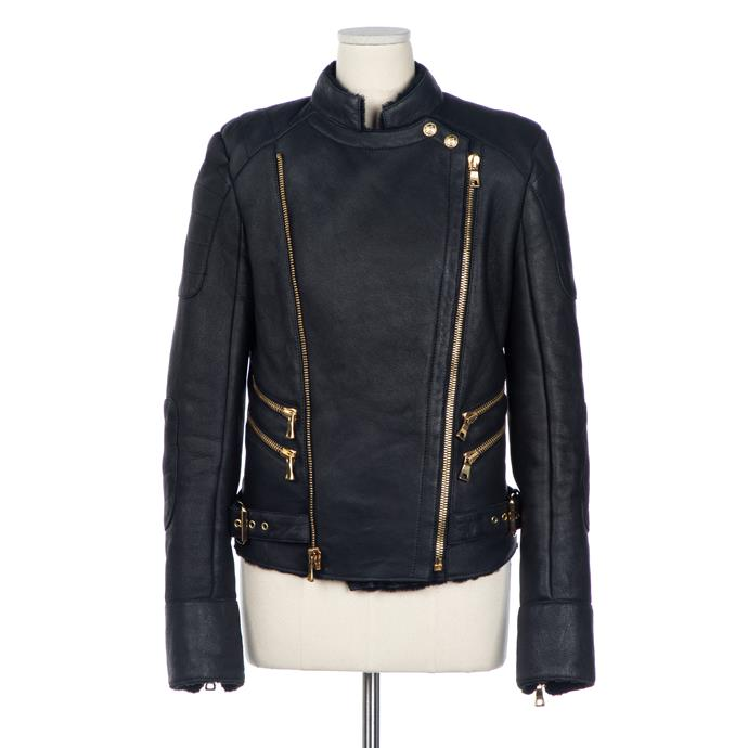 Balmain jacket, $378