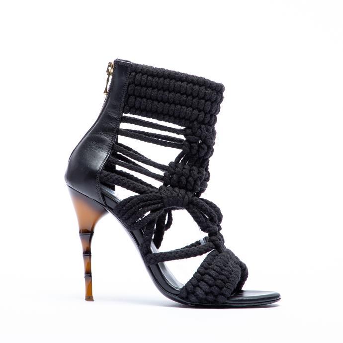 Balmain heels, $378