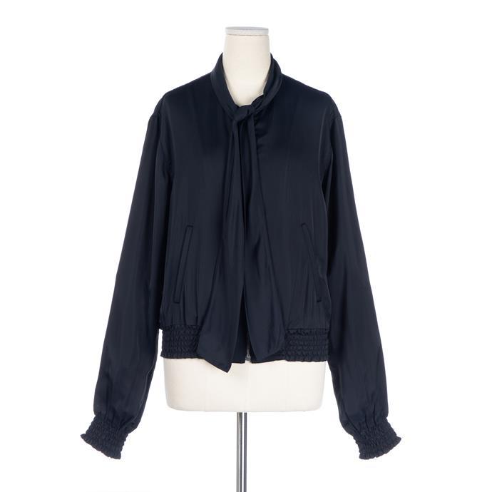 Miu Miu silk jacket, $416