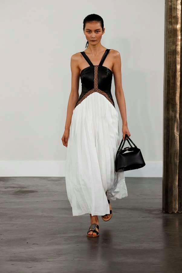 "**Gabriela Hearst** continued to go from strength to strength, delivering an incredibly sophisticated collection that has earned her the tentative title [""The American Hermès""](https://www.vogue.com/fashion-shows/spring-2020-ready-to-wear/gabriela-hearst