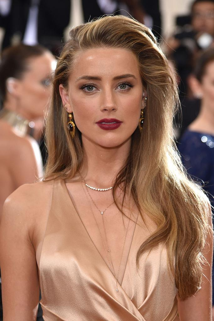 **Amber Heard** <br><br> While Heard has trialled mid-length layered cuts in the past, she's never opted for a bob or anything shorter (even though we're certain she'd be able to pull off a pixie cut with aplomb).