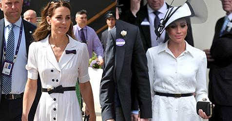 Every Time Kate Middleton And Meghan Markle Were Royal-Style Twins | Harper's BAZAAR Australia