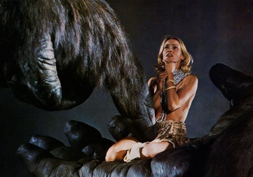 Jessica Lange in *King Kong* (1976)